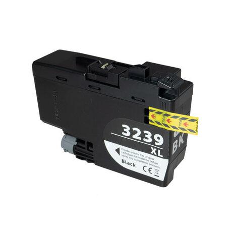 Huismerk Brother LC-3239XLBK Inktcartridge Zwart Hoge Capactiteit