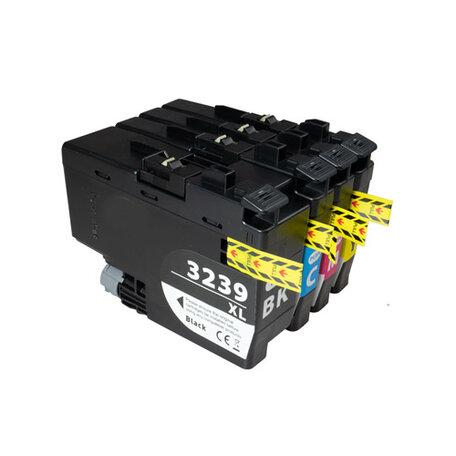 Huismerk Brother LC-3239XL Inktcartridges Hoge Capaciteit Multipack