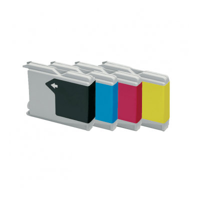 Huismerk Brother LC-1000/LC-970 Inktcartridges Multipack