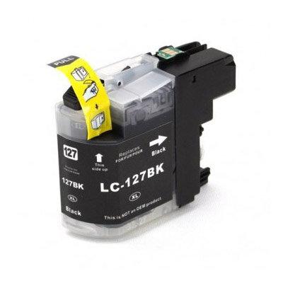 Huismerk Brother LC-127XLBK Inktcartridge Zwart