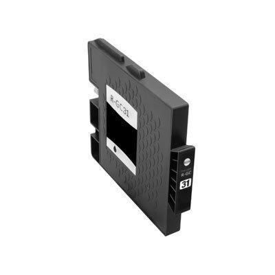 Huismerk Ricoh GC-31K Inktcartridge Zwart