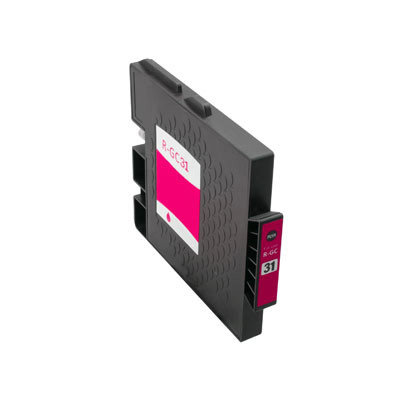 Huismerk Ricoh GC-31M Inktcartridge Magenta