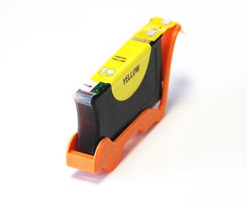 Huismerk Lexmark 100XL Inktcartridge Geel