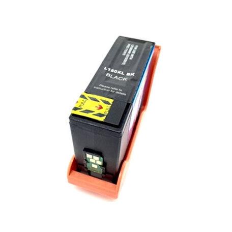 Huismerk Lexmark 150XL Inktcartridge Zwart