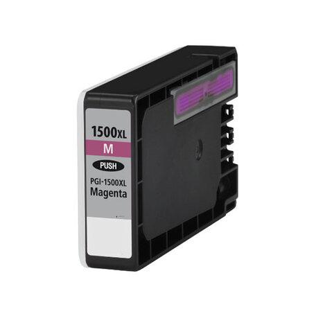 Huismerk Canon PGI-1500XLM Inktcartridge Magenta