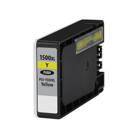 Huismerk Canon PGI-1500XLY Inktcartridge Geel