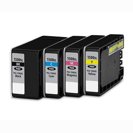Huismerk Canon PGI-1500XL Inktcartridges Multipack 4-Pack