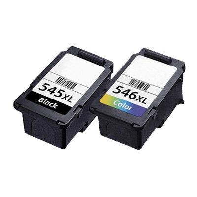 Huismerk Canon PG-545XL/CL-546XL Inktcartridge Multipack Zwart en Kleur