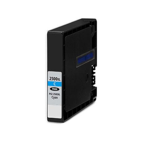Huismerk Canon PGI-2500XLC Inktcartridge Cyaan