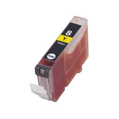 Huismerk Canon CLI-8Y Inktcartridge Geel