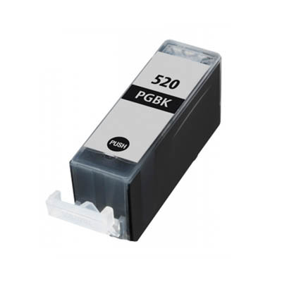 Huismerk Canon PGI-520BK Inktcartridge Zwart
