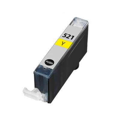 Huismerk Canon CLI-521Y Inktcartridge Geel
