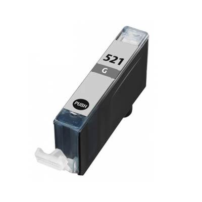 Huismerk Canon CLI-521GY Inktcartridge Grijs
