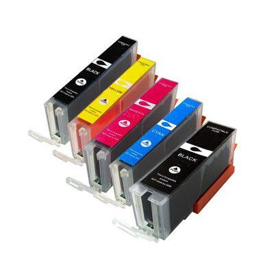 Huismerk Canon PGI-580XXL/CLI-581XXL Inktcartridges Multipack 5-Pack