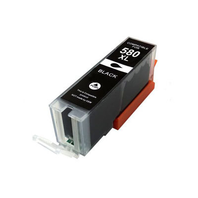 Huismerk Canon PGI-580XXLPGBK Inktcartridge Zwart