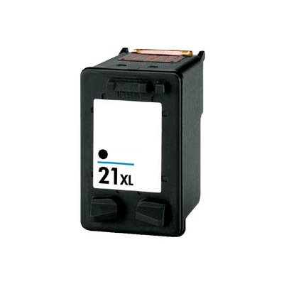 Huismerk HP 21XL (C9351AE) Inktcartridge Zwart