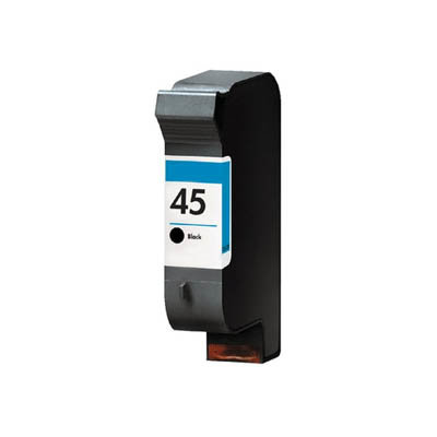 Huismerk HP 45 (51645AE) Inktcartridge Zwart