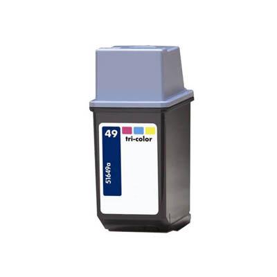 Huismerk HP 49 (51649AE) Inktcartridge Kleur