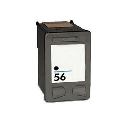 Huismerk HP 56XL Inktcartridge Zwart