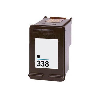 Huismerk HP 338 (C8765EE) Inktcartridge Zwart