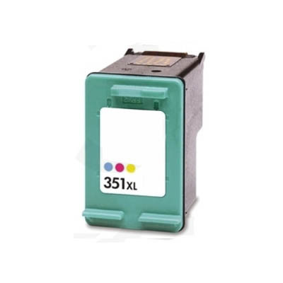 Huismerk HP 351XL (CB338EE) Inktcartridge Kleur