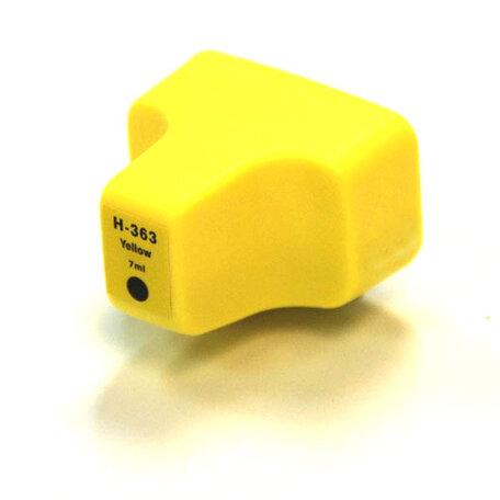 Huismerk HP 363XL Inktcartridge Geel