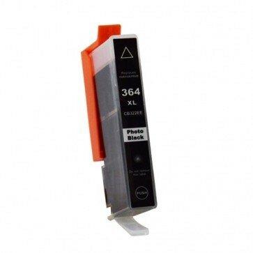 Huismerk HP 364XL (CB322EE) Inktcartridge Foto Zwart