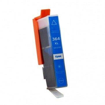 Huismerk HP 364XL (CB323EE) Inktcartridge Cyaan