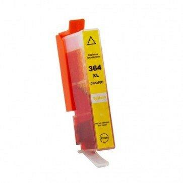 Huismerk HP 364XL (CB325EE) Inktcartridge Geel