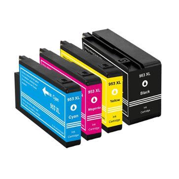 Huismerk HP 953XL Inktcartridge Multipack 4-Pack