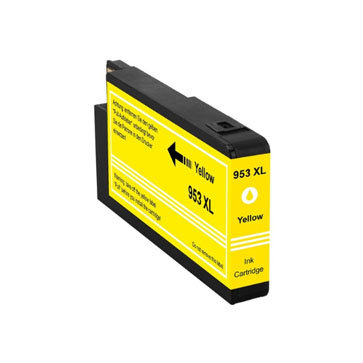 Huismerk HP 953XL Inktcartridge Geel