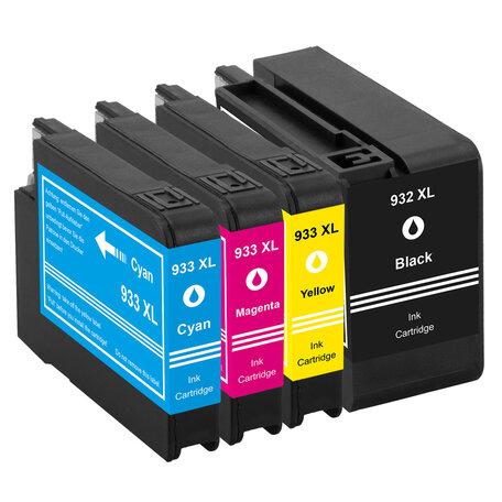 Huismerk HP 932XL/933XL Inktcartridge Multipack 4-Pack