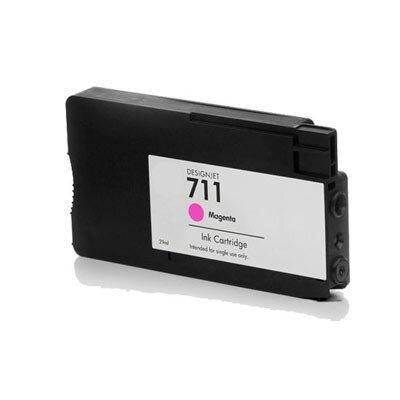 Huismerk HP 711 Inktcartridge Magenta