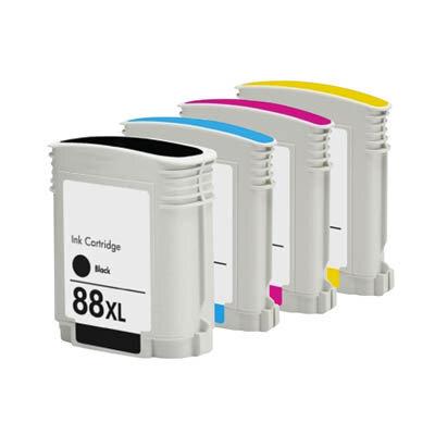 Huismerk HP 88XL Inktcartridge Multipack 4-Pack