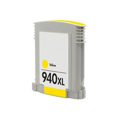 Huismerk HP 940XL Inktcartridge Geel