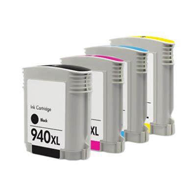 Huismerk HP 940XL Inktcartridge Multipack 4-Pack