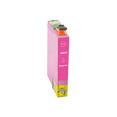Huismerk Epson T0803 Inktcartridge Magenta