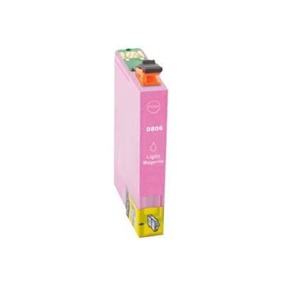 Huismerk Epson T0806 Inktcartridge Licht Magenta