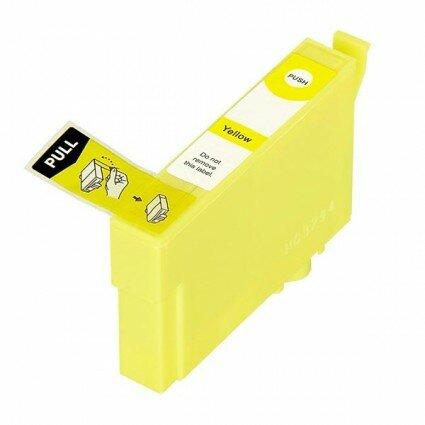 Huismerk Epson 34XL (T3474) Inktcartridge Geel
