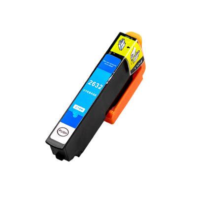 Huismerk Epson 26XL (T2632) Inktcartridge Cyaan