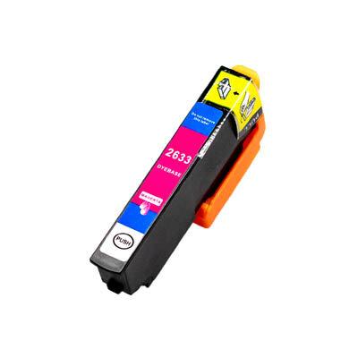 Huismerk Epson 26XL (T2633) Inktcartridge Magenta