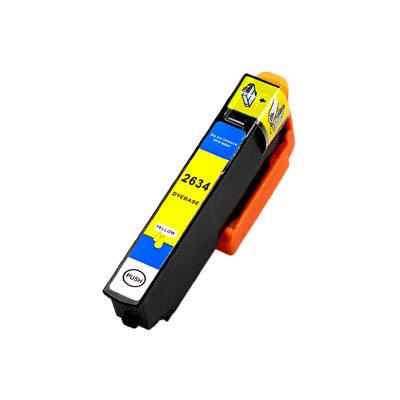 Huismerk Epson 26XL (T2634) Inktcartridge Geel