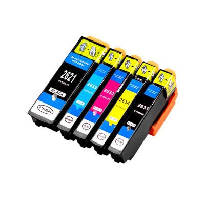 Huismerk Epson 26XL (T2636) Inktcartridges Multipack