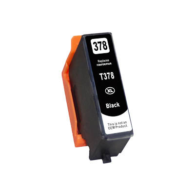 Huismerk Epson 378XL (T3791) Inktcartridge Zwart