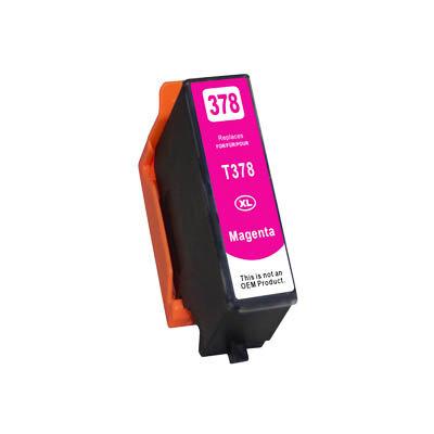 Huismerk Epson 378XL (T3793) Inktcartridge Magenta