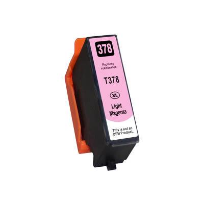 Huismerk Epson 378XL (T3796) Inktcartridge Licht Magenta