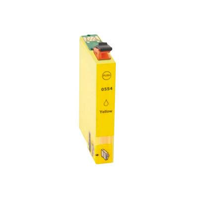 Huismerk Epson T0554 Inktcartridge Geel