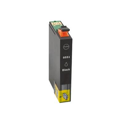 Huismerk Epson T0551 Inktcartridge Zwart