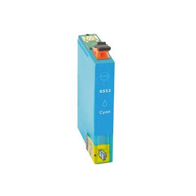 Huismerk Epson T0552 Inktcartridge Cyaan
