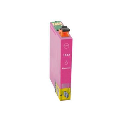 Huismerk Epson 16XL (T1633) Inktcartridge Magenta